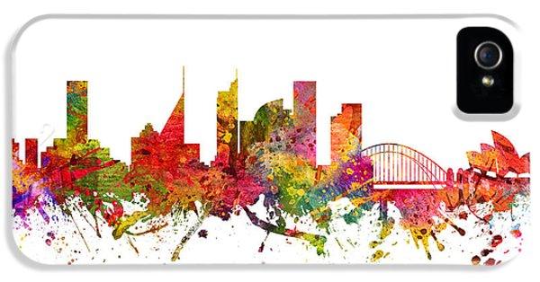Sydney Australia Cityscape 08 IPhone 5s Case by Aged Pixel