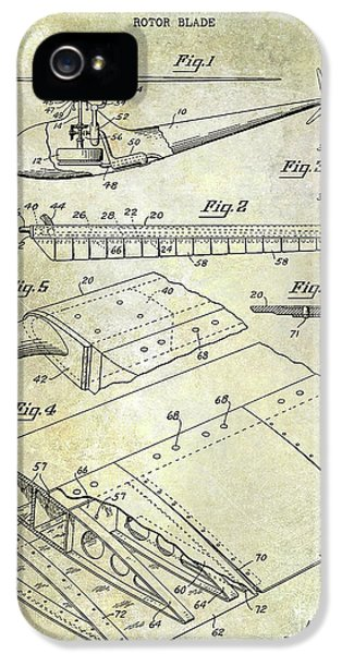 1949 Helicopter Patent IPhone 5s Case