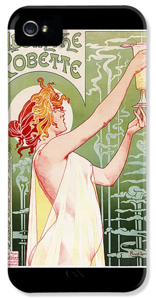 Absinthe Robette IPhone 5s Case by Henri Privat-Livemont