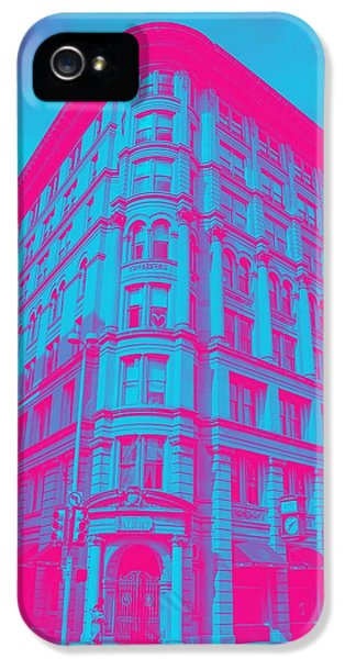 Moscow Skyline iPhone 5s Case - Archtectural Building by Celestial Images