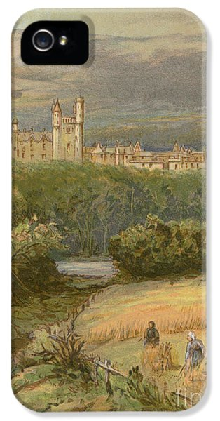 Balmoral Castle IPhone 5s Case by English School