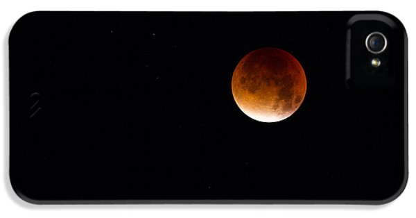 Blood Moon Super Moon 2015 IPhone 5s Case