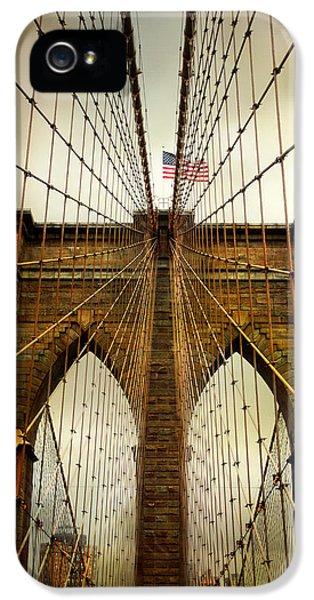 Brooklyn Bridge Twilight IPhone 5s Case by Jessica Jenney