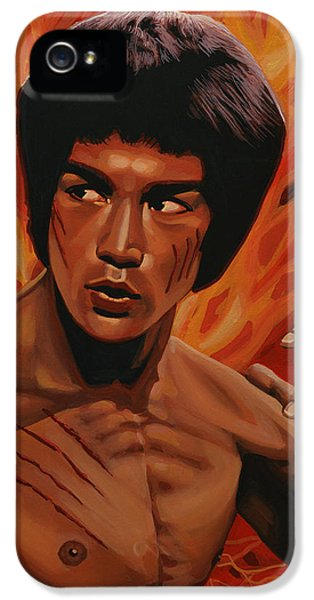 Bruce Lee Enter The Dragon IPhone 5s Case