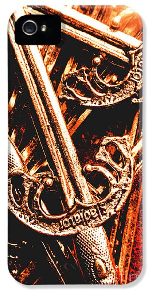 Armed iPhone 5s Case - Centurion Of Battle by Jorgo Photography - Wall Art Gallery