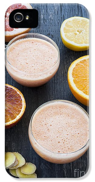 Citrus Smoothies IPhone 5s Case by Elena Elisseeva