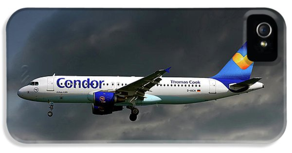 Condor iPhone 5s Case - Condor Airbus A320-212 by Smart Aviation