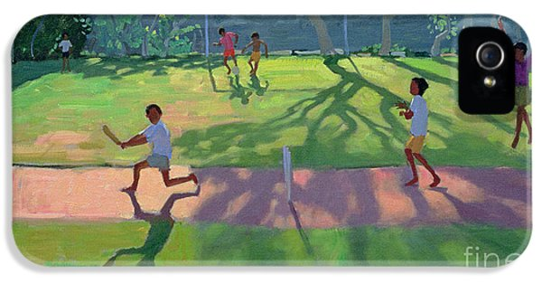 Cricket Sri Lanka IPhone 5s Case by Andrew Macara