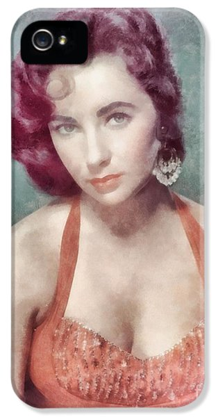 Elizabeth Taylor By John Springfield IPhone 5s Case