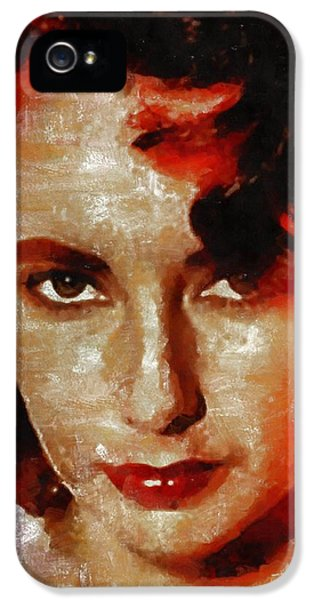 Elizabeth Taylor IPhone 5s Case by Mary Bassett