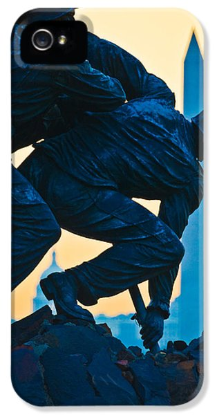 Iwo Jima Memorial At Dusk IPhone 5s Case