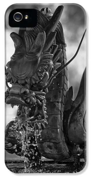Japanese Water Dragon IPhone 5s Case by Sebastian Musial