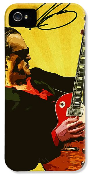Joe Bonamassa IPhone 5s Case by Semih Yurdabak