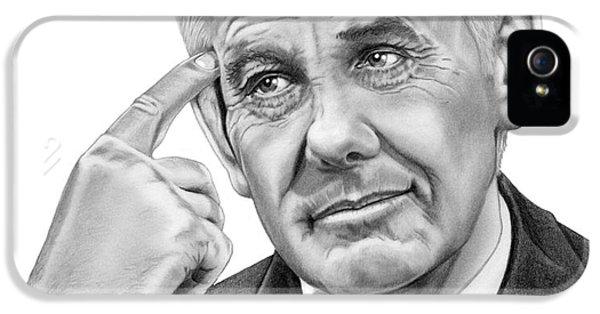 Johnny Carson IPhone 5s Case by Murphy Elliott