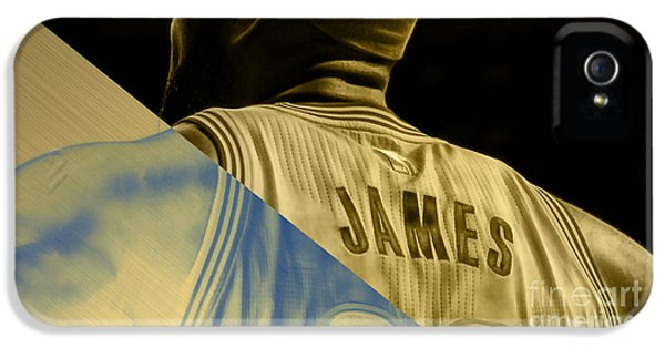 Lebron James Collection IPhone 5s Case by Marvin Blaine