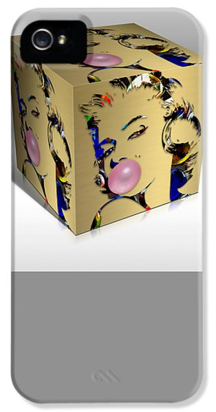 Marilyn Monroe Art IPhone 5s Case by Marvin Blaine
