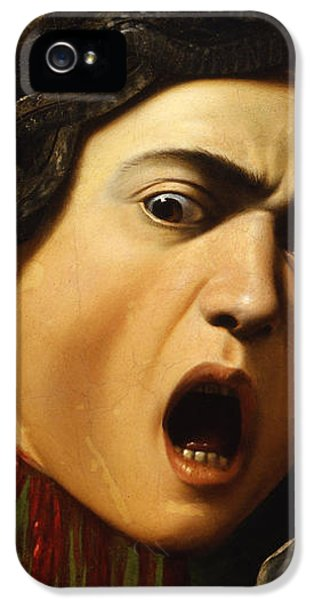 Medusa IPhone 5s Case by Caravaggio
