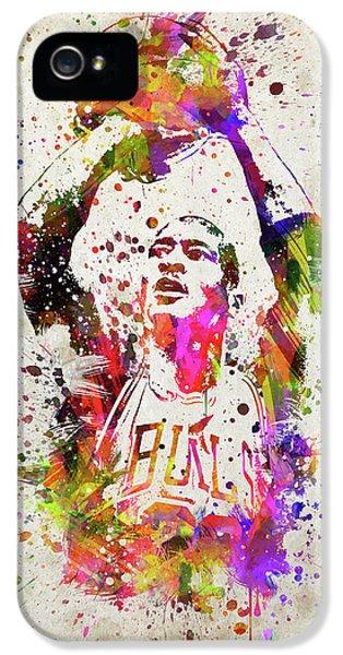 Michael Jordan In Color IPhone 5s Case