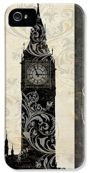 Moon Over London IPhone 5s Case by Mindy Sommers