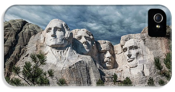 Mount Rushmore II IPhone 5s Case by Tom Mc Nemar