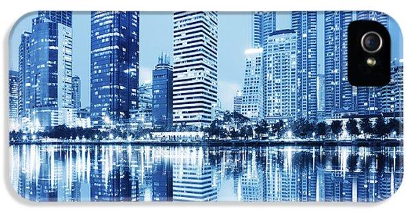 Night Scenes Of City IPhone 5s Case