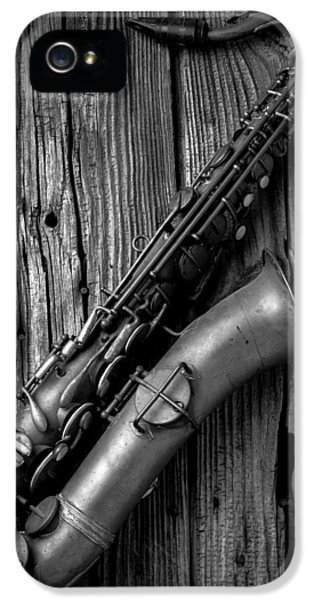 Old Sax IPhone 5s Case by Garry Gay