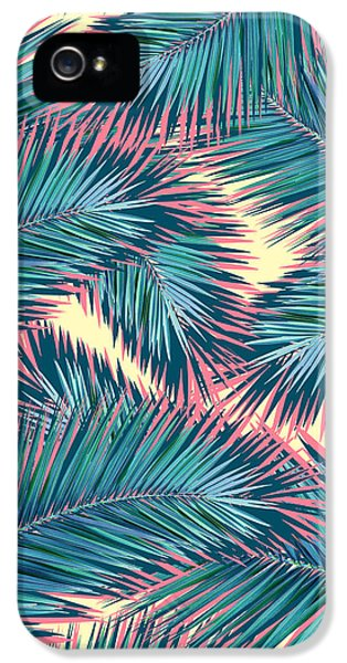 Palm Trees  IPhone 5s Case by Mark Ashkenazi