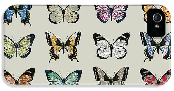 Butterfly iPhone 5s Case - Papillon by Sarah Hough