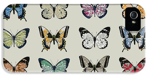 Papillon IPhone 5s Case by Sarah Hough