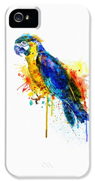 Parrot Watercolor  IPhone 5s Case by Marian Voicu