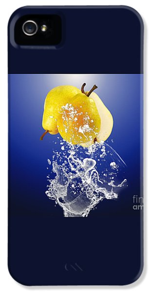 Pear Splash Collection IPhone 5s Case by Marvin Blaine