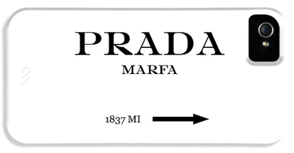 new styles 22fdd a9f07 Prada Marfa iPhone 5s Cases | Fine Art America