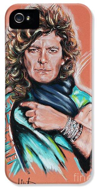 Robert Plant iPhone 5s Case - Robert Plant by Melanie D