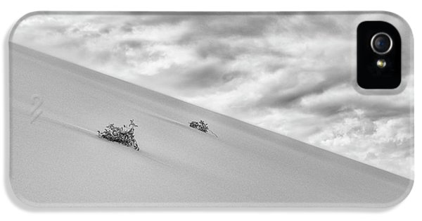 IPhone 5s Case featuring the photograph Sand And Clouds by Hitendra SINKAR