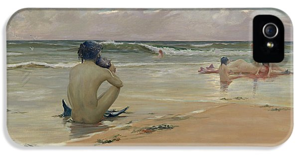 Newts iPhone 5s Case - Sea Idyll by Rupert Bunny