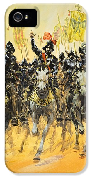 Spanish Conquistadors IPhone 5s Case by Graham Coton