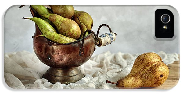 Still-life With Pears IPhone 5s Case by Nailia Schwarz