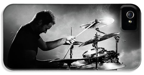 The Drummer IPhone 5s Case by Johan Swanepoel