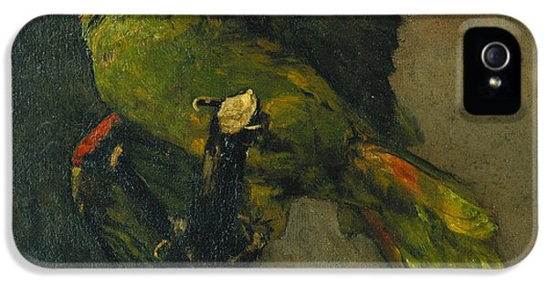 Parakeet iPhone 5s Case - The Green Parrot by Vincent Van Gogh