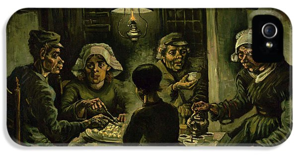 The Potato Eaters, 1885 IPhone 5s Case by Vincent Van Gogh