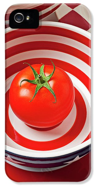 Tomato In Red And White Bowl IPhone 5s Case