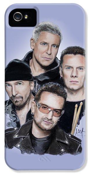 U2 IPhone 5s Case by Melanie D