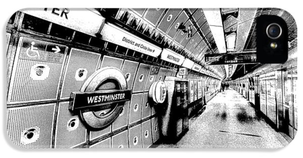 Underground London Art IPhone 5s Case by David Pyatt