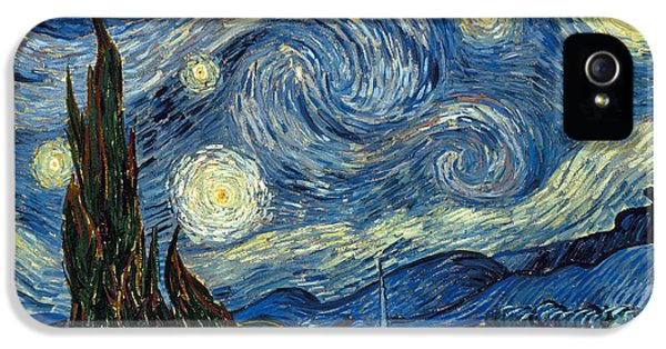Impressionism iPhone 5s Case - Van Gogh Starry Night by Granger