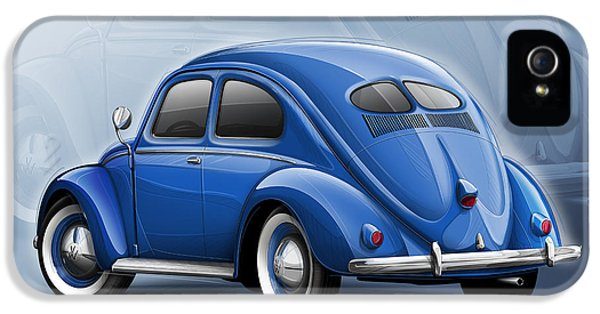 Volkswagen Beetle Vw 1948 Blue IPhone 5s Case