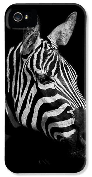 Zebra IPhone 5s Case by Paul Neville