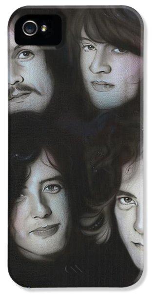 Robert Plant iPhone 5s Case - Zeppelin by Christian Chapman Art