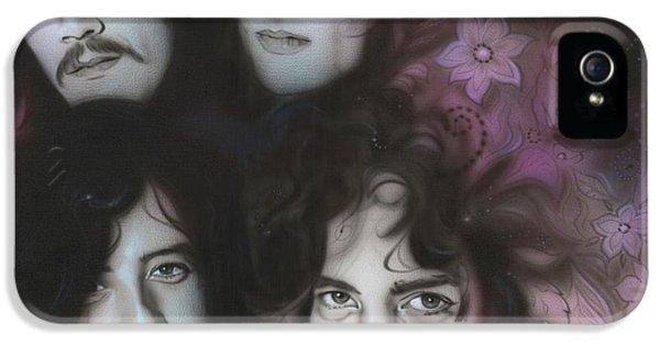 Led Zeppelin - ' Zeppelin ' IPhone 5s Case by Christian Chapman Art