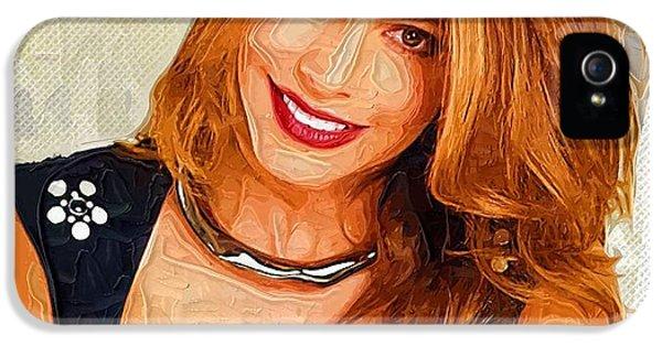Shakira iPhone 5s Case - Actress Sofia Vergara  by Elizabeth Simon