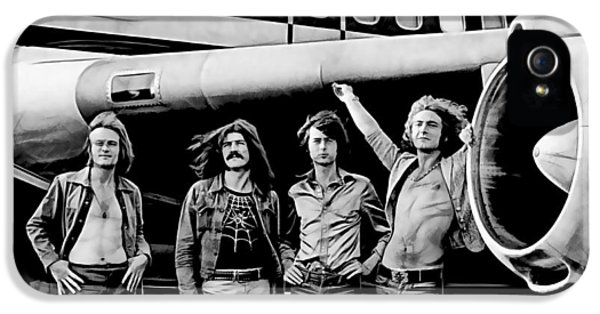 Led Zeppelin Collection IPhone 5s Case by Marvin Blaine